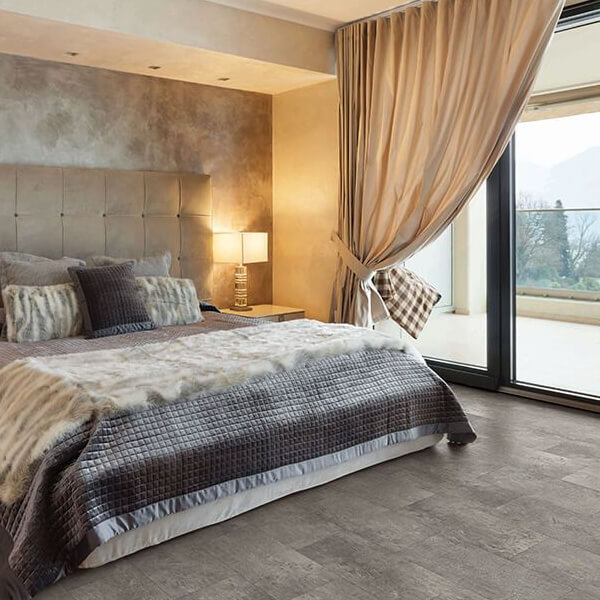 Bedroom coretec flooring | Speers Road Broadloom