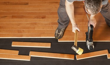 Hardwood installation | Speers Road Broadloom