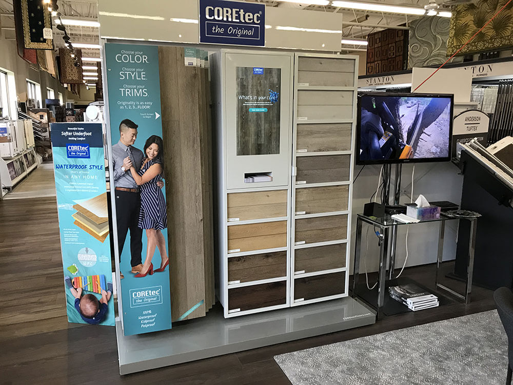 Coretec showroom | Speers Road Broadloom