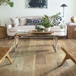 Hardwood flooring of hall