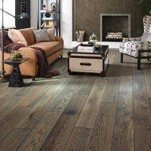 Living room Hardwood flooring | Speers Road Broadloom