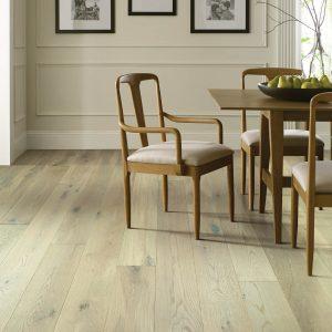 Hardwood flooring of dining room | Speers Road Broadloom