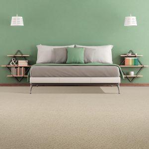 Green wall of bedroom | Speers Road Broadloom