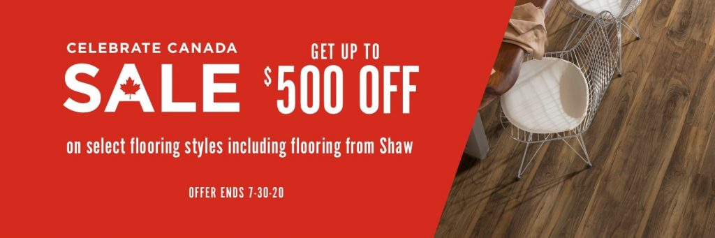 Celebrate Canada Sale | Speers Road Broadloom